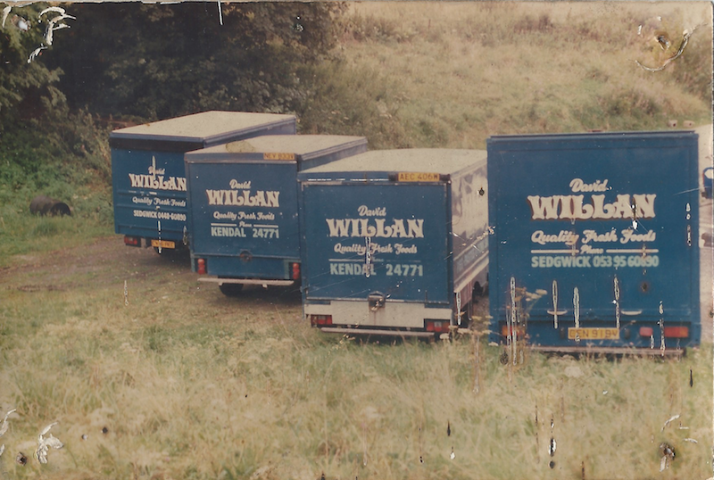 David Willan van from the 1980's